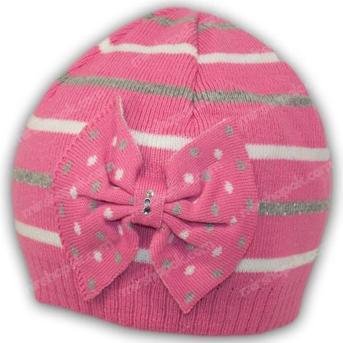 вязаная шапка для подростка