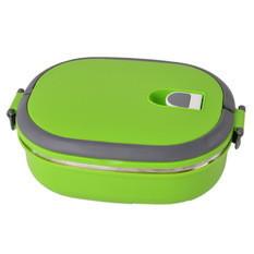 Ланч-бокс для еды 0,9 л зеленый