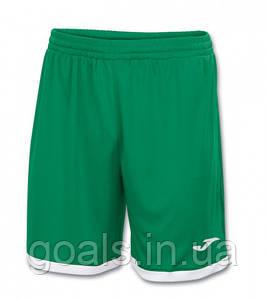 Шорты футбольные Joma Toledo Зеленый/Белый