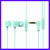 Наушники Remax RM-502 blue с микрофоном
