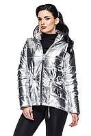 Куртка Юна - серебро: 44,46,48,50,52,54