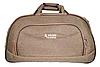 Практичная дорожная сумка GOLDEN HORSE на 3 колесах цвета хаки DGM-742269