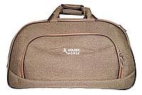 Практичная дорожная сумка GOLDEN HORSE на 3 колесах цвета хаки DGM-742269, фото 1