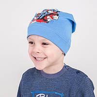 Легкая шапочка для мальчика на весну 2018 оптом -JustDoIt - Артикул 2206
