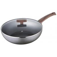 Сковорода-ВОК (алюминий+гранит/ 28*8 см) Bergner BG-7958