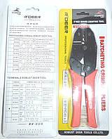 12-0361. Клещи R'Deer RT-301N для опрессовки неизолир.клемм 0,5-6мм2