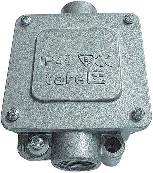 Коробка монтажная  металлическая Р21/2, IP 44, 380 B