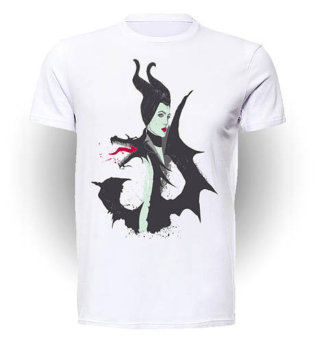 Футболка GeekLand Малефисента Maleficent Malificent With Dragon art MT.01.010