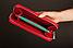 Кожаный кошелек красный, фото 4