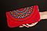 Кожаный кошелек красный, фото 2