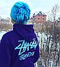 Stussy Inter. худи женская • Фотки реальные • Бирка вшитая
