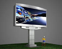 Cветодиодный экран для улицы SMD P10