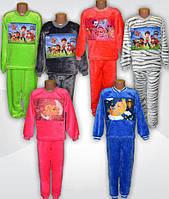 Махровая детская пижама BABY. Теплая детская пижама. Махровая пижама детская. Тачки. Щенячий патруль. Мерида