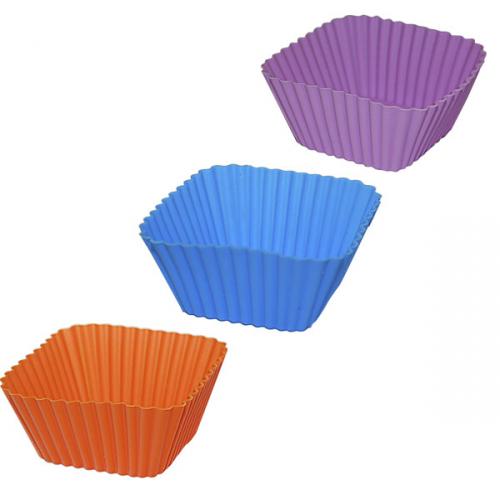 Форма для випічки квадрат 6*6*3 см