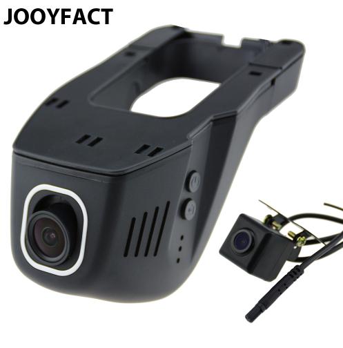 Видеорегистратор JOOY A5 WiFi 1080P, с камерой заднего вида