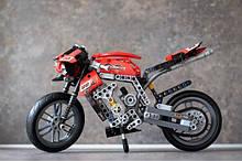 Конструктор Decool 3353 Technic Техніка Мотоцикл Спорт-Байк 446 деталей