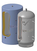 Буферная емкость БЕМ-1-350 из углеродистой стали.