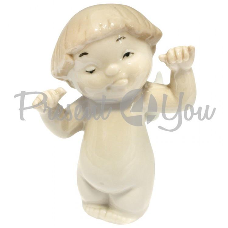Фигурка «Веселый Ангел» h-8 см (360-5004)