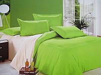 Двухцветные постельные комплекты полуторного размера.