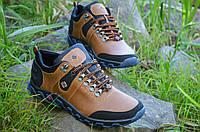 Кроссовки ботинки кожаные мужские   Харьков коричневые кожа (Код: 87а) Только 40р!, фото 1