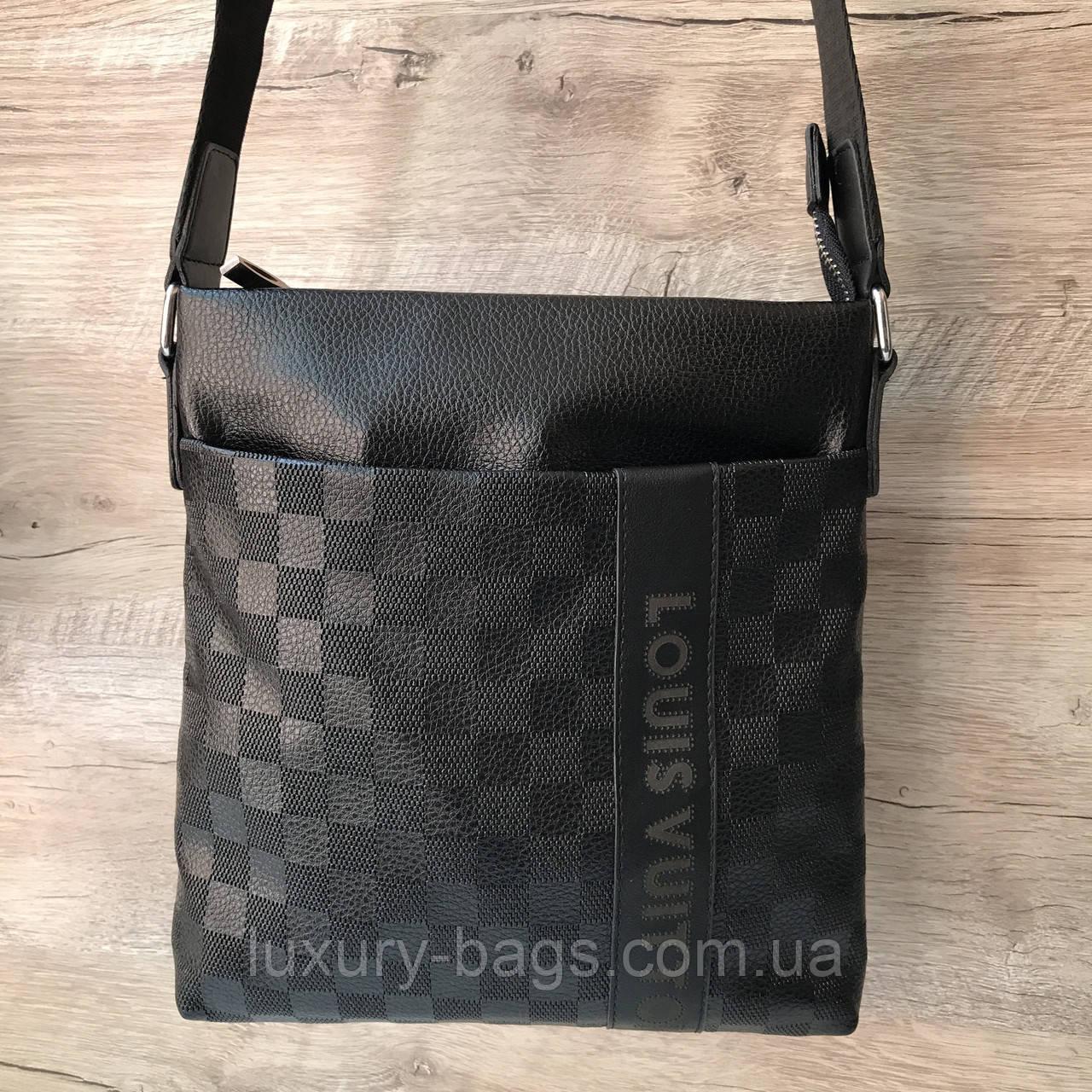 525935009d14 Мужская сумка планшетка Louis Vuitton Луи Виттон через плечо - BaGsInTrend  в Одессе