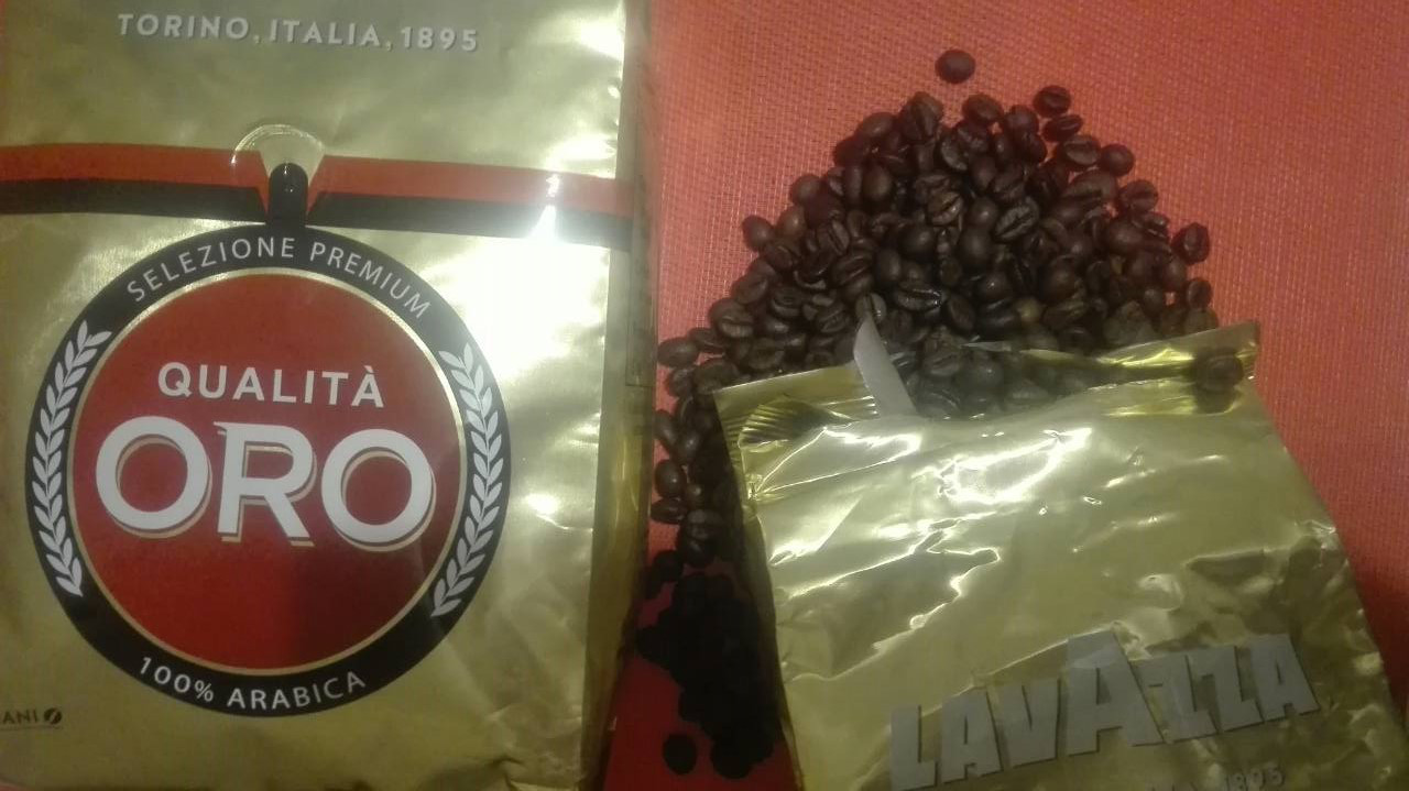 "Кофе в зернах LAVAZZA Qualita ORO 1 кг - интернет магазин ""toysi.net.ua"" в Киеве"