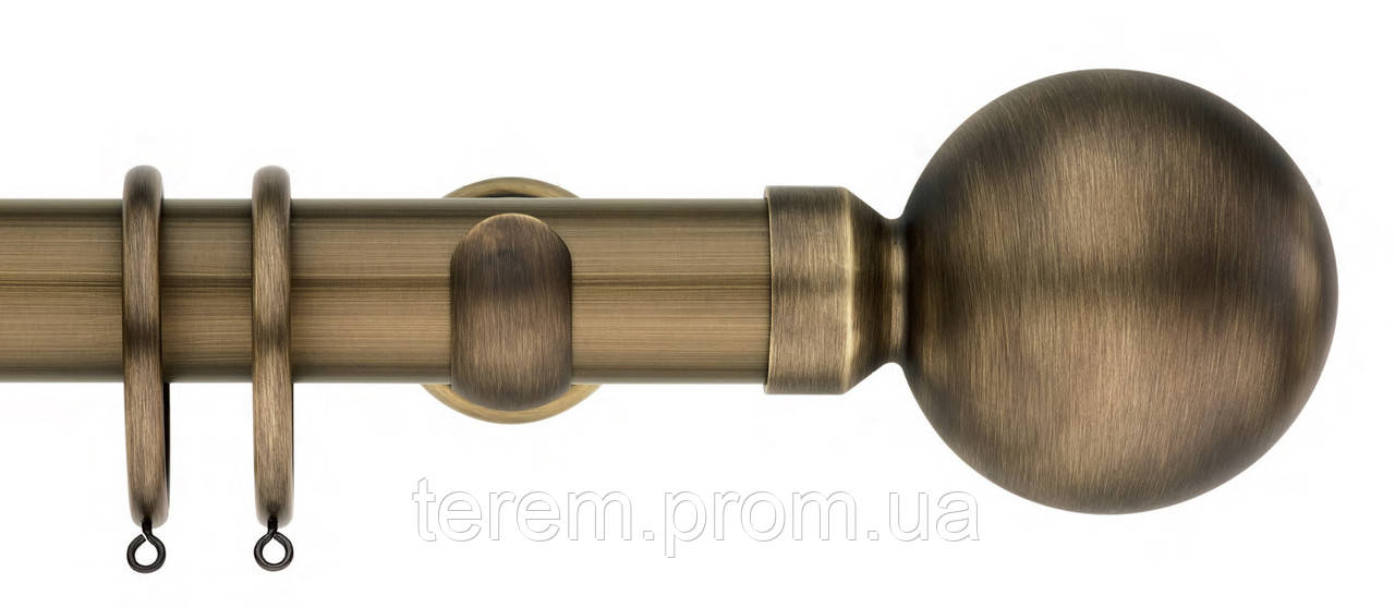 Карниз латунь, диаметр 20, 25, 30, 35, 50