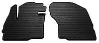 Резиновые передние коврики для Mitsubishi Eclipse Cross 2017- (STINGRAY)