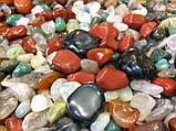 Камни для аквариума и водопада Галька ландшатфтная 1 кг, фото 3