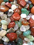 Камни для аквариума и водопада Галька ландшатфтная 1 кг, фото 6