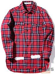 Рубашка Off-white Red (ориг.бирка)