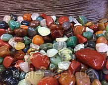 Камені для акваріума і водоспаду Галька ландшатфтная 1 кг
