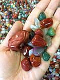 Камни для аквариума и водопада Галька ландшатфтная 1 кг, фото 2