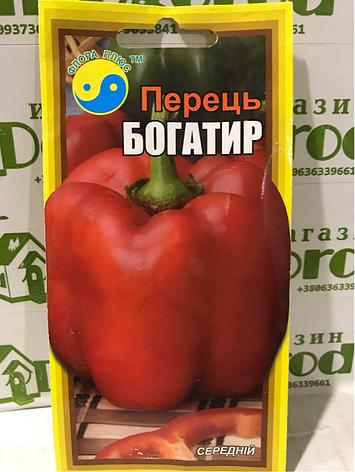 """Перец Богатырь ТМ """"Флора Плюс"""" 0,3г, фото 2"""