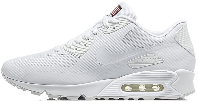 4f594029 Nike Air Max 90 Hyperfuse White Independence Day (USA)   мужские кроссовки;  белые