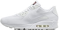 Nike Air Max 90 Hyperfuse White Independence Day (USA)   мужские кроссовки; белые