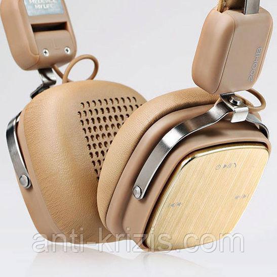 Наушники беспроводные Remax Bluetooth RB-200HB Khaki