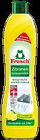 Очищающее молочко для уборки ванной комнаты и кухни Frosch Zitronen Scheuermilch, 500ml