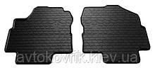 Резиновые передние коврики в салон Nissan Primera (P12) 2002-2007 (STINGRAY)