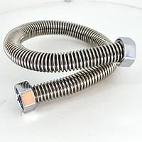Металлорукав нержавейка для газа Ду15 (1/2) В/В  L=1000