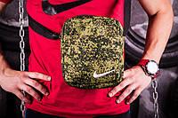 Барсетка Nike   Мессенджер камуфляжный