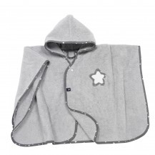 Пончо  махровое с капюшоном ALVI Звезда