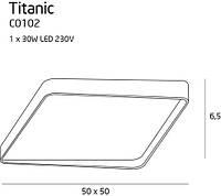 Потолочный светильник Maxlight Titanic C0102