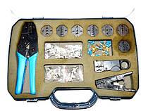 12-0396. Набор инструментов для обжима кабелей
