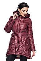 Куртка Нелли - бордо: 46,48,50,52