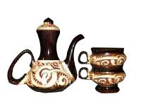 Кофейный набор (Кофе вдвоем) Кофейник 480мл и 2 чашки 90 мл
