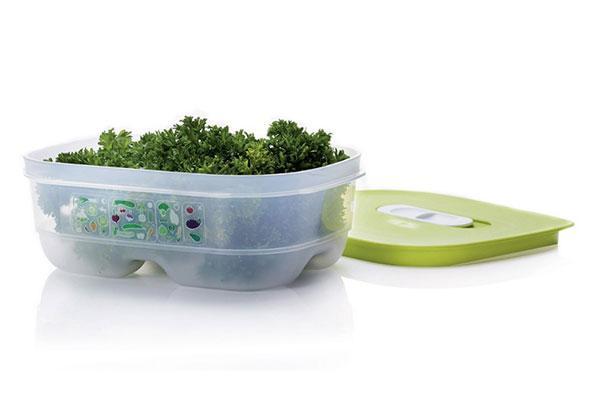Контейнер Умный холодильник 800 мл для порционного хранения  зелени, ягод, фруктов.
