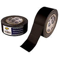 Высококачественная матовая армированная лента НРХ черная 50 мм х 25 м