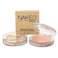 Тональный крем-пудра Naked Urban Decay Skin Miracle Touch Liquid Illusion Foundation