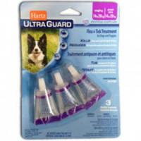 Hartz (Харц) Ultra Guard Капли от блох, клещей и комаров для собак и щенков от 14 до 28кг (1 пипетка)